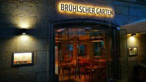 Lichtwerbung LED Vollacrylbuchstaben - Brühlscher Garten