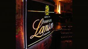 Lichtwerbung Leuchtschild - Champagne Lanson
