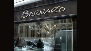 3D Buchstaben Edelstahl - Bernard